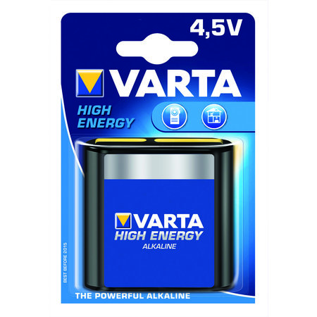 VARTA BATTERIJ HIGH ENERGY PLAT 4.5V