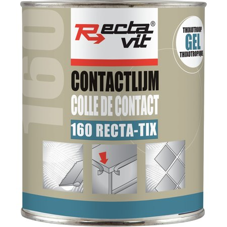 RECTAVIT 160 RECTATIX GEL - UNIVERSELE CONTACTLIJM 750ML