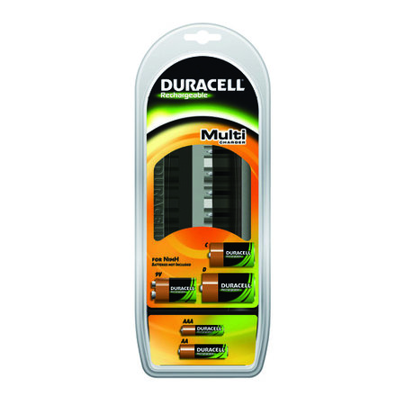 DURACELL LADER CEF22 MULTICHARGER LEEG