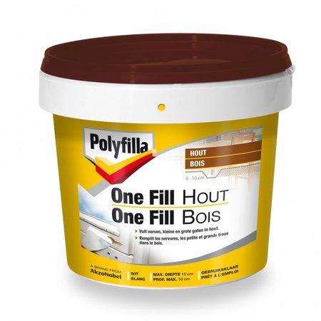 POLYFILLA ONE FILL HOUT 500ML