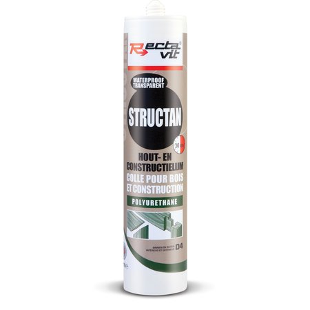 RECTAVIT STRUCTAN - CONSTRUCTIELIJM TRANSPARANT 310ML